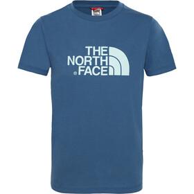 The North Face Easy Kurzarm T-Shirt Kinder shady blue/canal blue